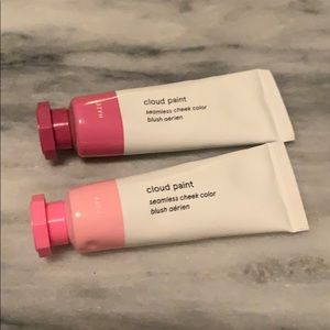 Glossier full size cloud paint in haze and puff